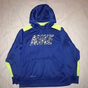 Boys Nike Therma Fit Hoodie